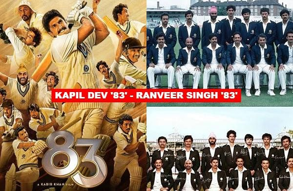 '83' is an upcoming sports film based on the former World Cup-winning captain will feature Ranveer Singh essaying role of cricket stalwart Kapil Dev. Check out the actors who will be essaying the roles of the 1983 World Cup winners.