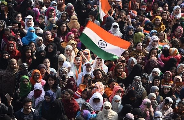 Republic Day at Shaheen Bagh: 'Dadis' hoist flag; Azaadi chants echo