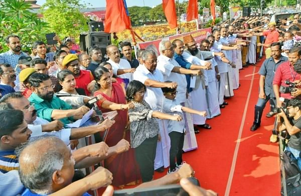 BJP leaders flay LDF's human chain on Republic Day