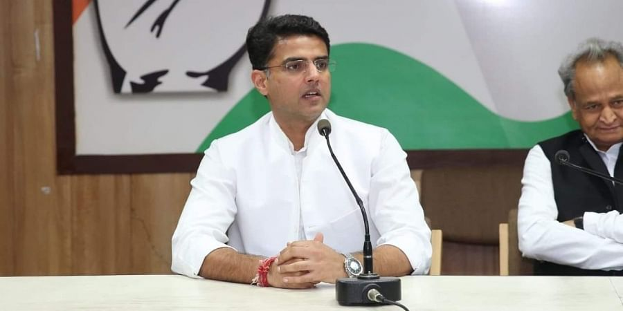 Rajasthan Deputy Chief Minister Sachin Pilot