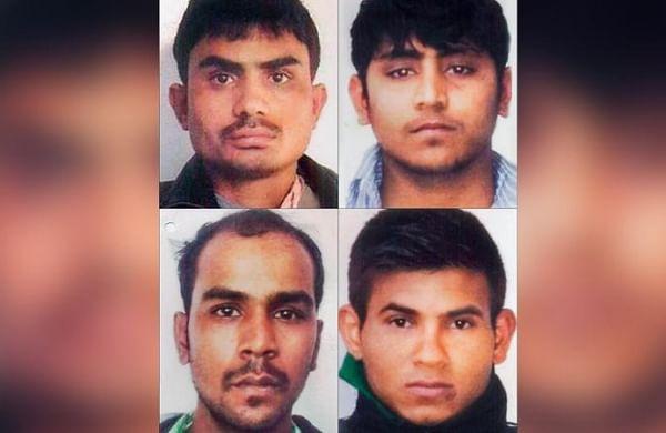 Nirbhaya gang rape case convicts (clockwise from top left) Akshay Thakur, Vinay Sharma, Pawan Gupta and Mukesh Singh. (File Photo | PTI)