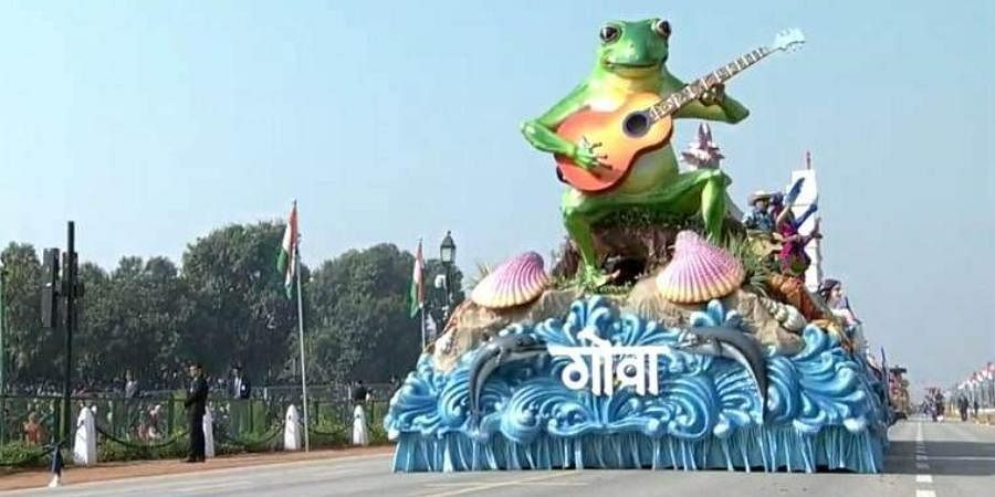 From politics to frogs, Goa Republic Day tableau has netizens hopping...