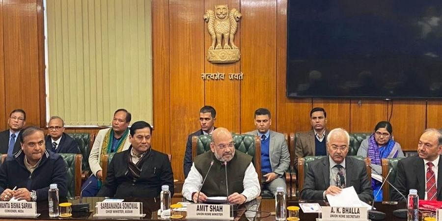 The tripartite agreement was signed by Assam Chief Minister Sarbananda Sonowal, top leadership of the four factions of the NDFB, ABSU, Joint Secretary in the Home Ministry Satyendra Garg and Assam Chief Secretary Kumar Sanjay Krishna in presence of Union Home Minister Amit Shah.