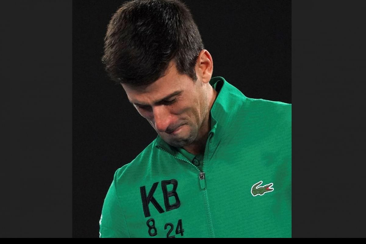 Watch He Was My Mentor And Friend Novak Djokovic Breaks Down Remembering Kobe Bryant The New Indian Express