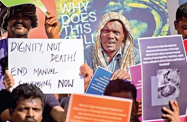 'Death of manual scavengers is institutional murder'