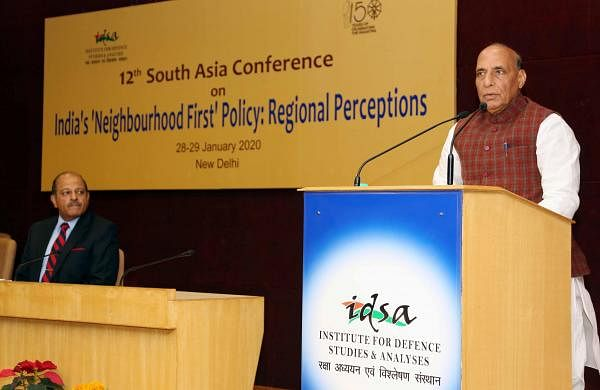 Talks and terror cannot go together: Rajnath Singh warns Pakistan