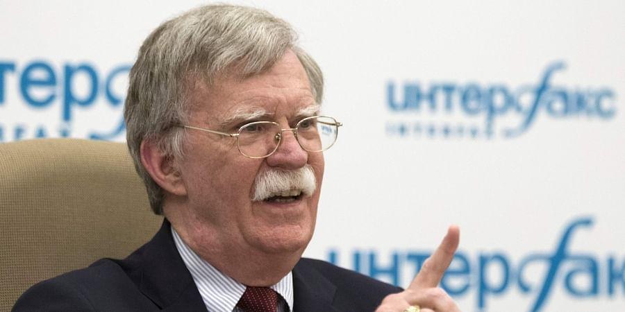 Former U.S. National security adviser John Bolton