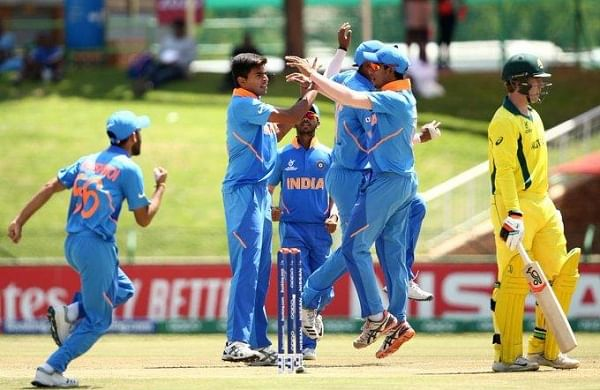 India breeze into U-19 World Cup semifinals, trample Australia by 74 runs
