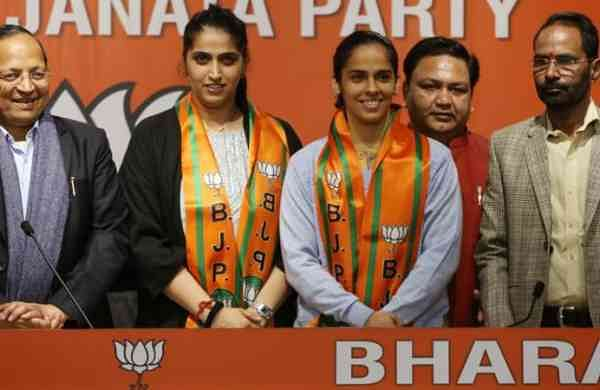Want to contribute to India: Badminton star Saina Nehwal after joining BJP