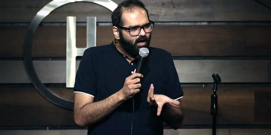Stand Up comedian Kunal Kamra