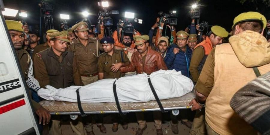 UP Police submits charge sheet in connection with death of 23-year-old Unnao rape victim...