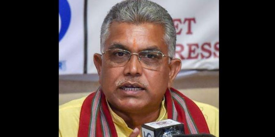 West Bengal BJP chief Dilip Ghosh