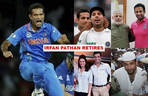 As all-rounder Irfan Pathan on Saturday announced his retirement from all forms of cricket, let us take a look at some of his best memories on and off the field.