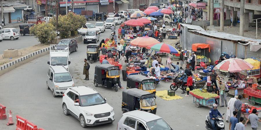 Jammu and Kashmir traffic Srinagar Traffic