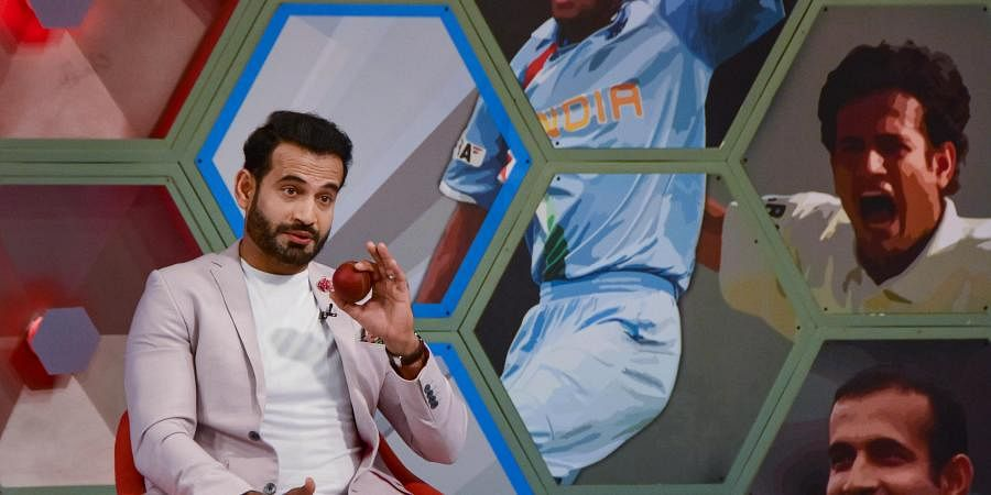 Cricketer Irfan Pathan while announcing his retirement from all forms of cricket at a programme in Mumbai Saturday Jan. 4 2020. (Photo | PTI)
