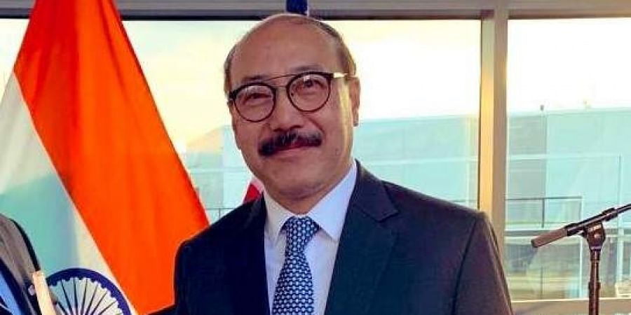 India's ambassador to the US Harsh Vardhan Shringla