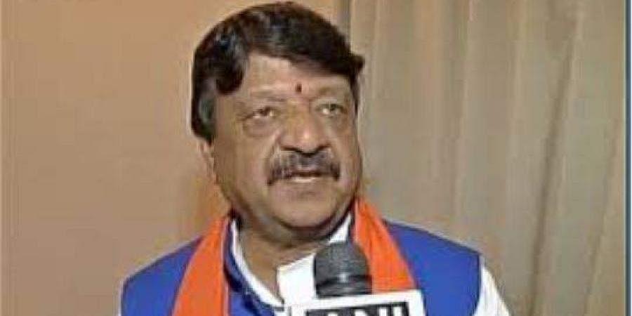 BJP leader Kailash Vijayvargiya