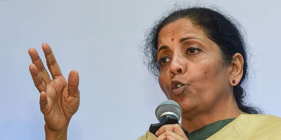 Finance MinisterNirmala Sitharaman