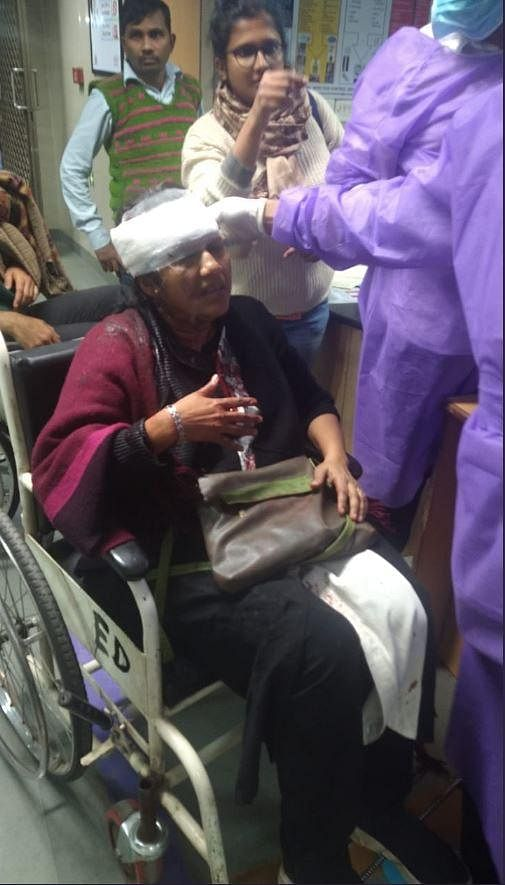 Sucharita Sen, faculty of CSRD (Head of center for study of regional development), admitted in AIIMS with head injury.