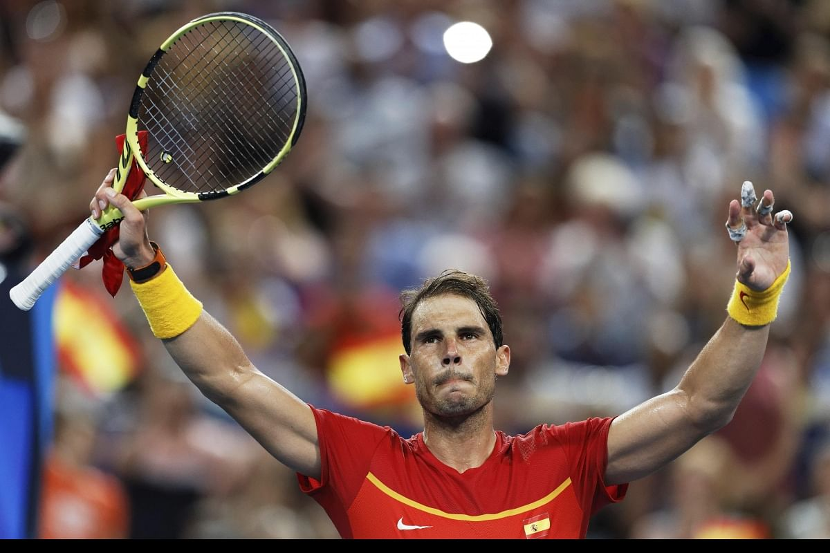 Rafael Nadal On Fire As Spain Crush Uruguay At Atp Cup The New Indian Express