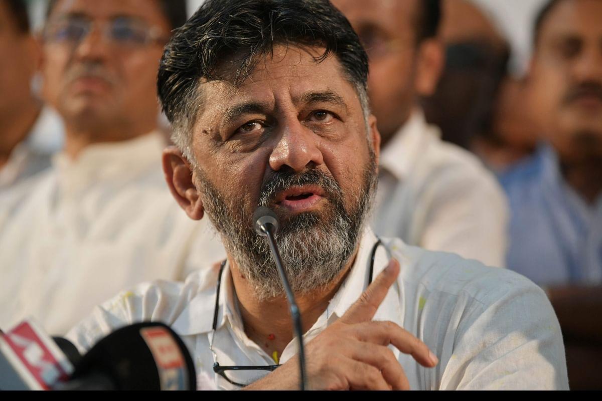 Top Karnataka Congress post in mind, DK Shivakumar off to Delhi- The New Indian Express