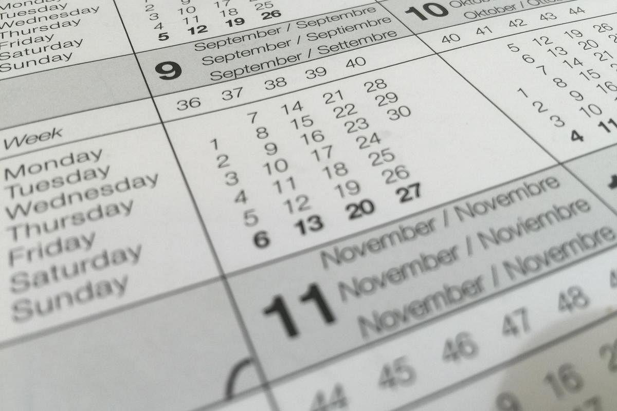 Malayalam Calendar 1994, October - ProKerala