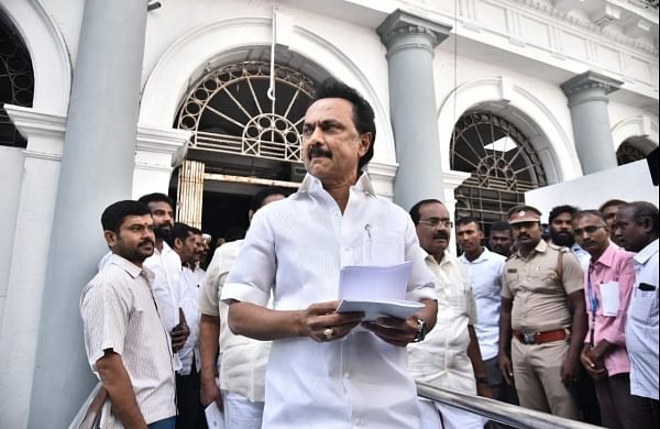 SC notice to TN assembly speaker, others on DMK's plea for disqualification of 11 AIADMK MLAs