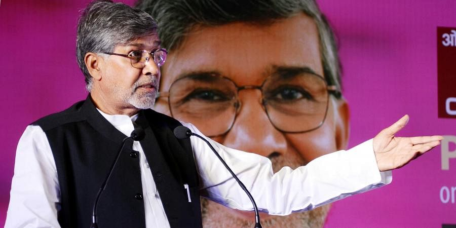 Nobel Peace Prize winner and child rights activist Kailash Satyarthi