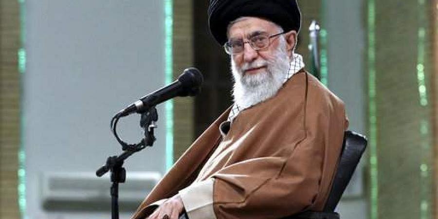 Iran supreme leader Ali Khamenei