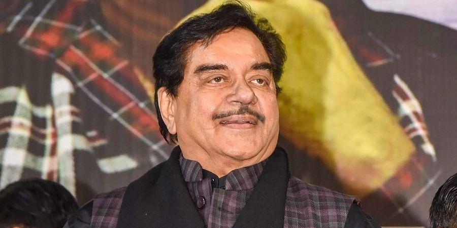 Actor-turned-politician Shatrughan Sinha