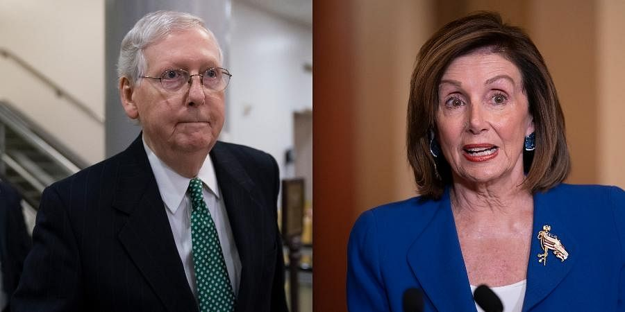 Majority Leader Mitch McConnell and House Speaker Nancy Pelosi