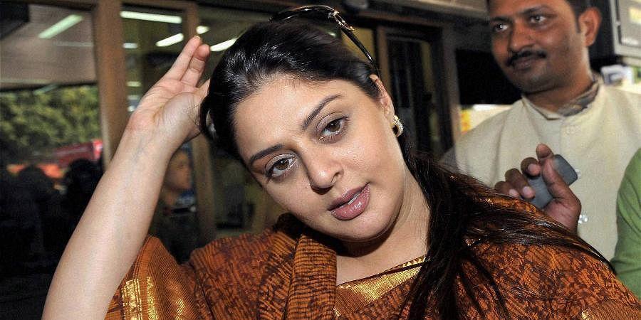 Actress Nagma