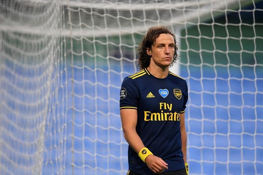 Arsenal's Brazilian defender David Luiz