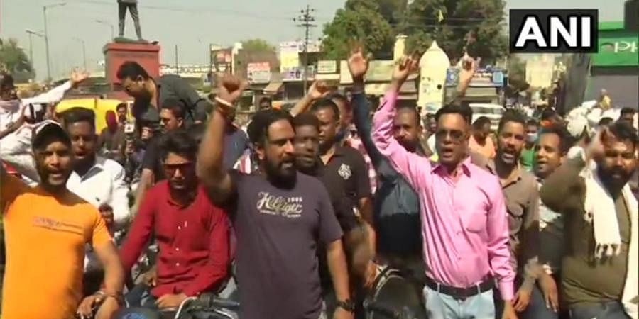 Activists of several Dalit organisations blocked roads, held demonstrations and demanded justice for the victim's family.