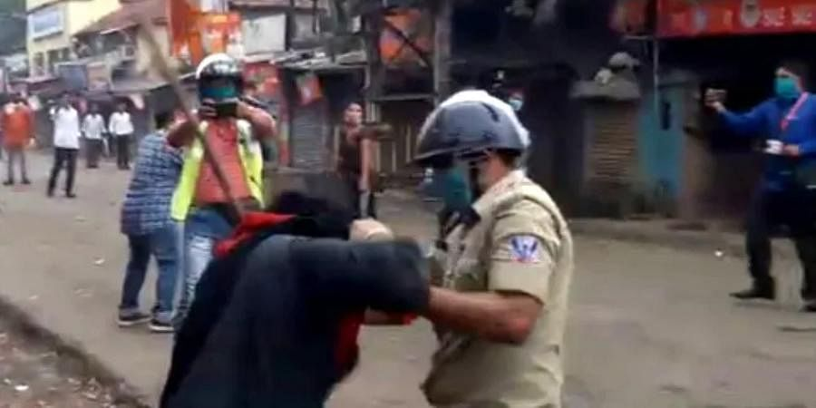 Controversy erupted on Friday over the alleged assault of the Sikh man and pulling his turban during the Nabanna rally in Howrah.
