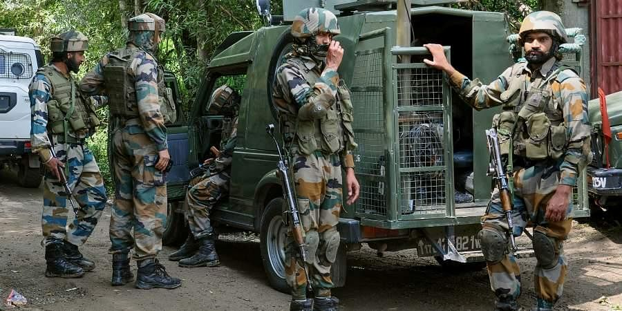 Bases on intelligence inputs, security forces launched a search operation in the Yarwan area of Shopian.