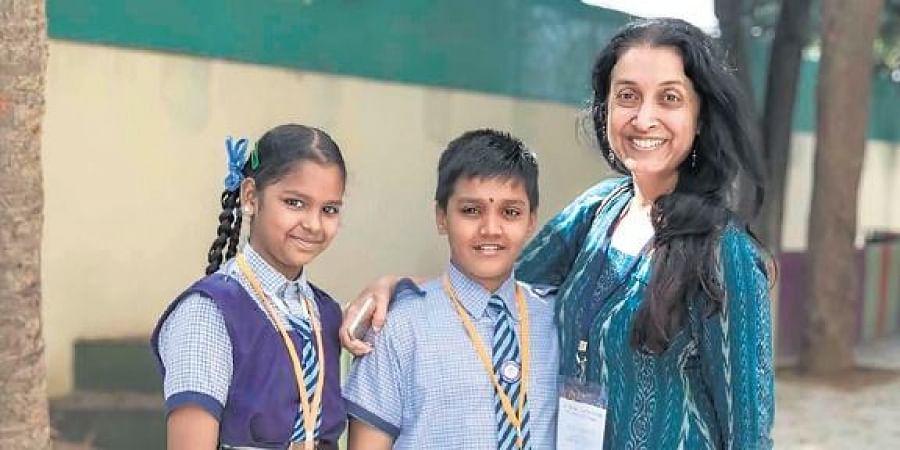 Shaheen Mistri of  Teach for India.