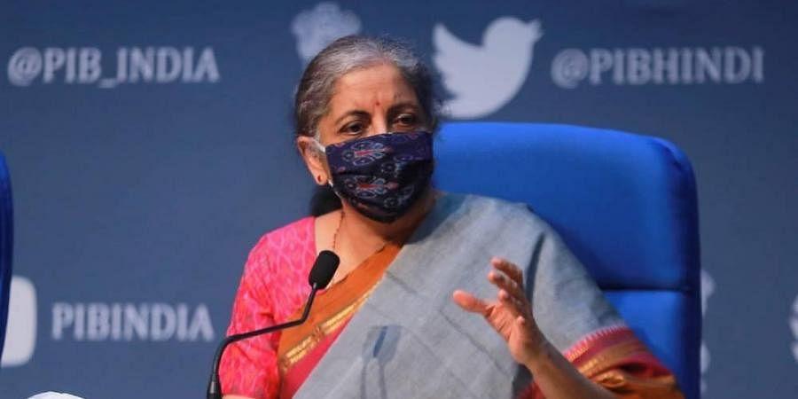 Union Finance Minister Nirmala Sitharaman (Photo   Shekhar Yadav/EPS)