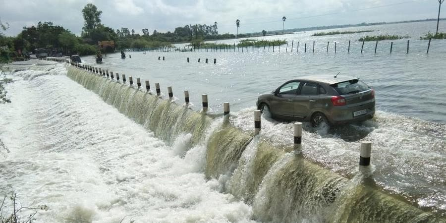 Non-stop rain for two straight days have battered Hyderabad. (Photo | EPS)