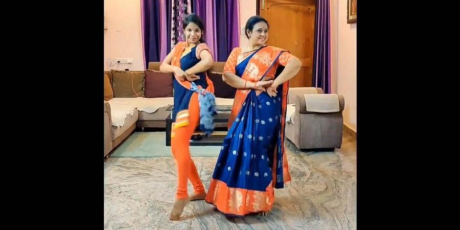 Siri Challa (L) and Jayaprada