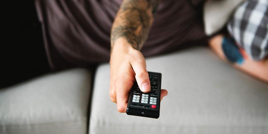 remote control, TV