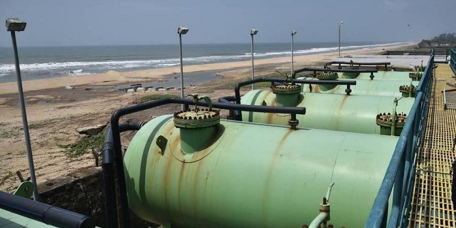 Desalination plant at Nemmeli near Chennai