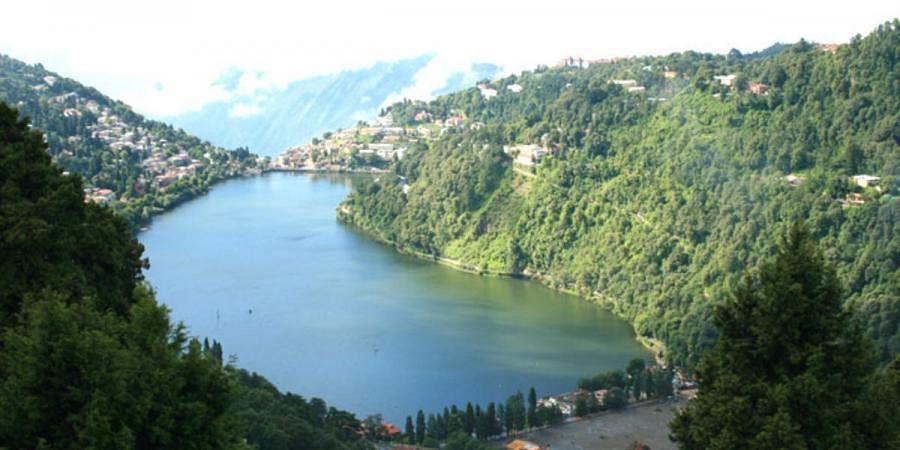 A view of Nainital lake
