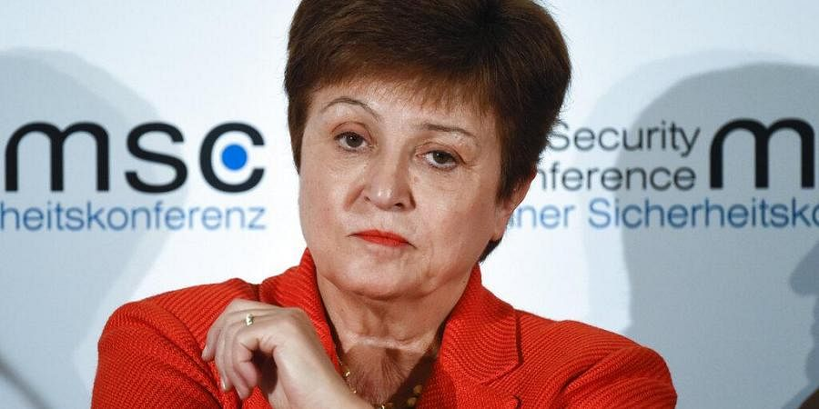 Kristalina Georgieva, Managing Director of the International Monetary Fund, attends a session on the first day of the Munich Security Conference in Munich. (File Photo | AP)