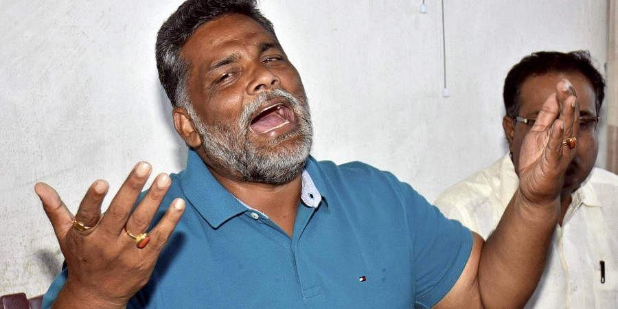 Bihar's Jan Adhikar Party chief and former MP Pappu Yadav