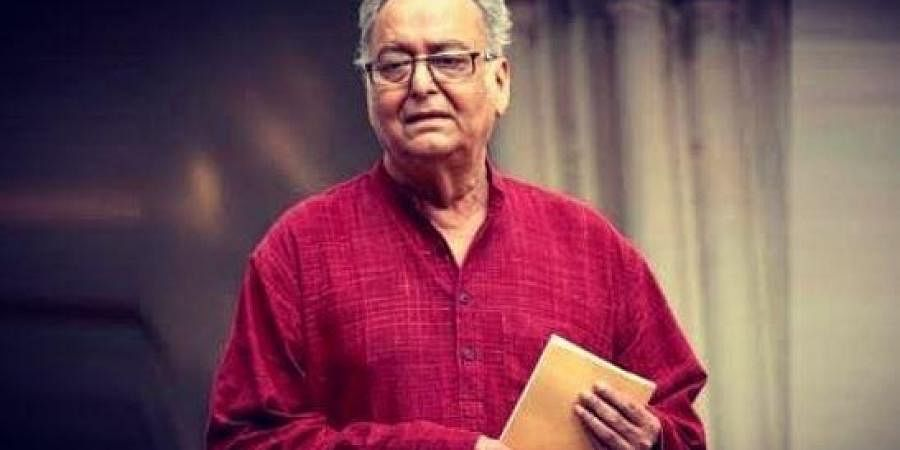Legendary actor Soumitra Chatterjee'