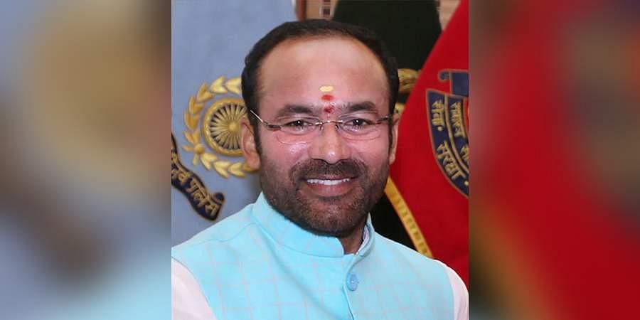 Union Minister of State for Home Affairs G Kishan Reddy