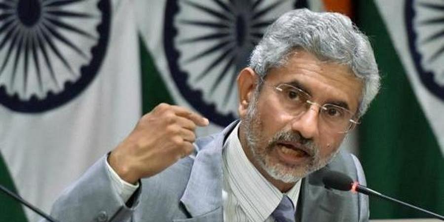 External Affairs Minister S Jaishankar