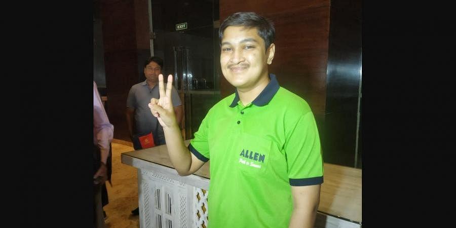 NEET 2020 topper from Odisha Soyeb Aftab (Photo   EPS)