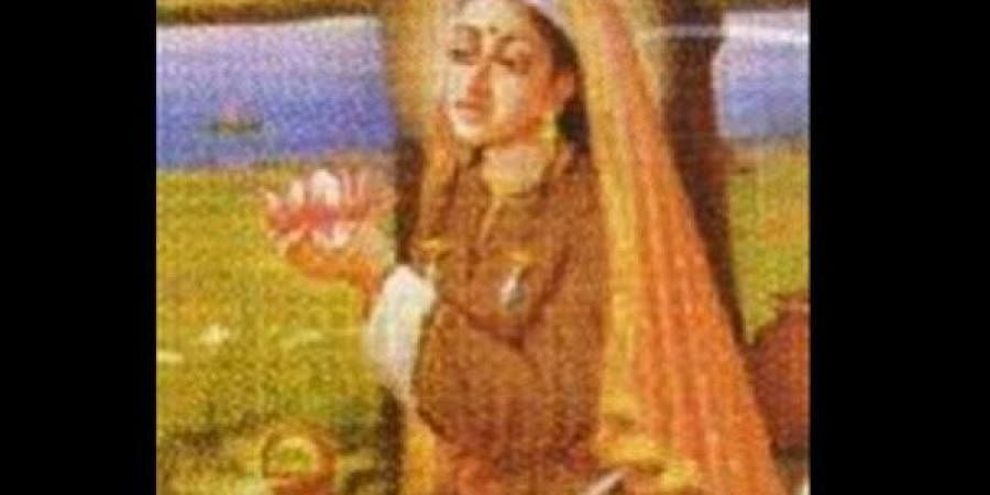 Kashmiri yogini, Lalleshwari or Lal Ded
